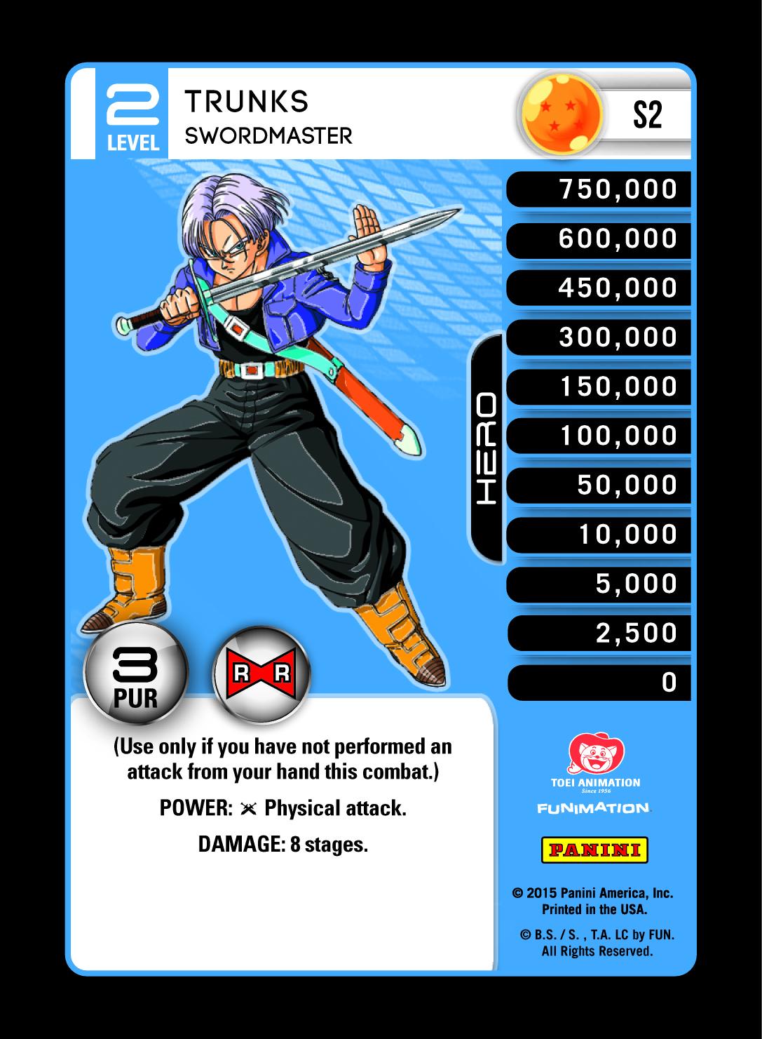 Dragonball Z DBZ TCG Panini Starter Deck Evolution S25 Red Ruthless Mastery