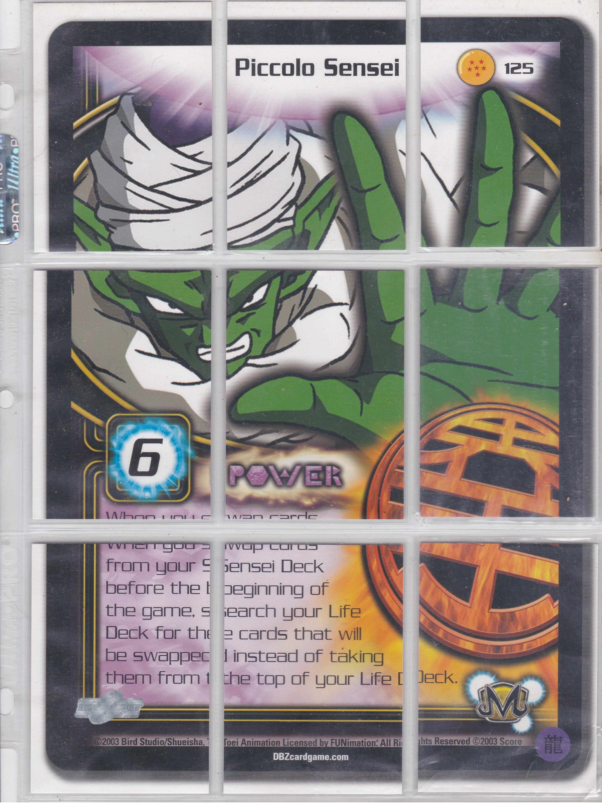 Piccolo Sensei 125 Puzzle