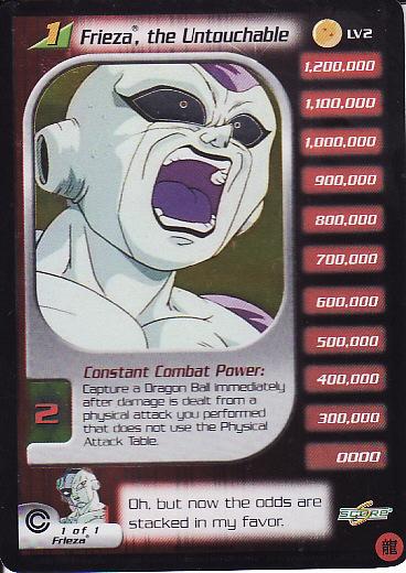 Dragon Ball Z CCG Complete Lost Villain Promo Set LV1-LV7!!