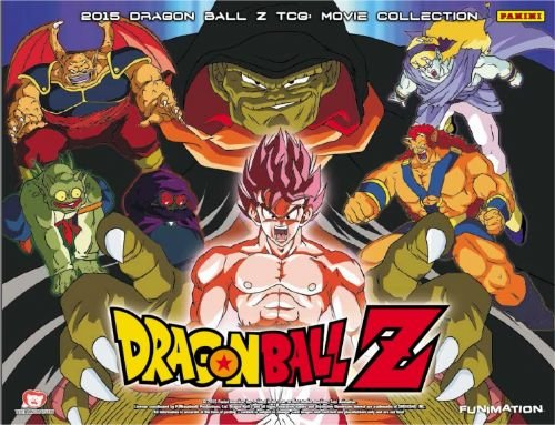 Dragonball Panini Movie Collection 2015 edition card singles
