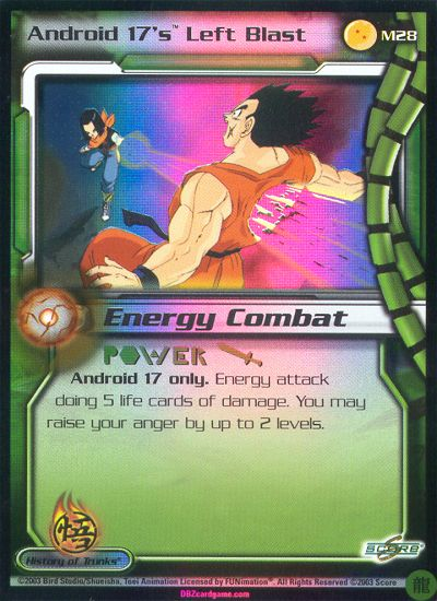 Movie 7 Subset!! Dragon Ball Z CCG Android 14s Power Kick M14!