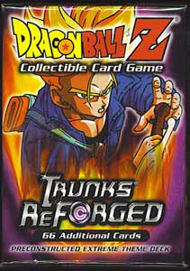 Dragonball Z Trunks Reforged Theme Deck