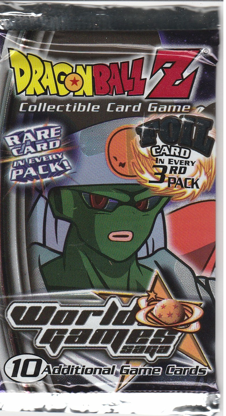 Dragonball Z World Games Saga Booster Pack