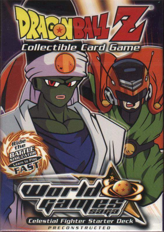 Dragonball Z World Games Saga Theme Deck: Celestial Fighter