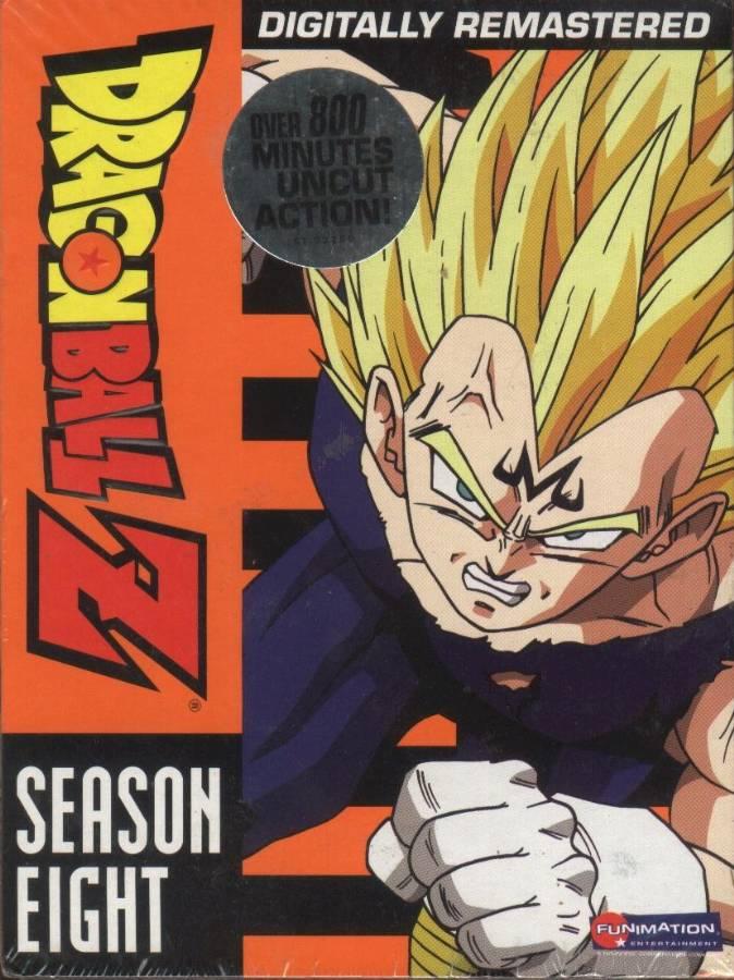 Dragonball Z trading cards: Season Eight DVD