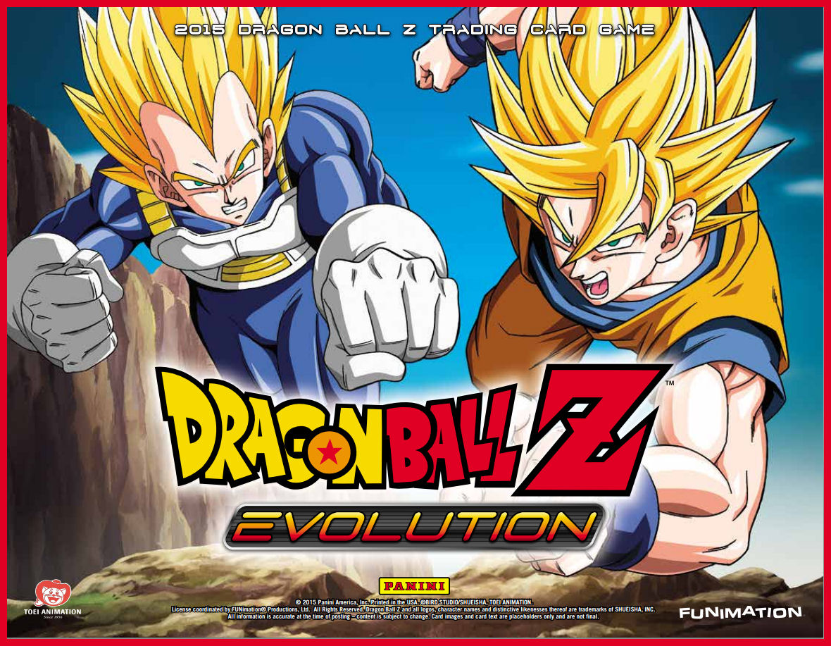 Panini Dragonball Z 2016 Evolution trading cards