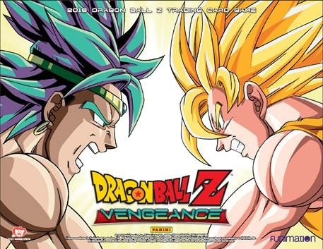 Panini Dragonball Z 2016 Vengeance trading cards