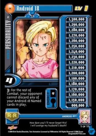 Dragon Ball Z GT Cards CCG Goten Lvl 2 Flat Foil Unlim #78! Super 17 Saga!!