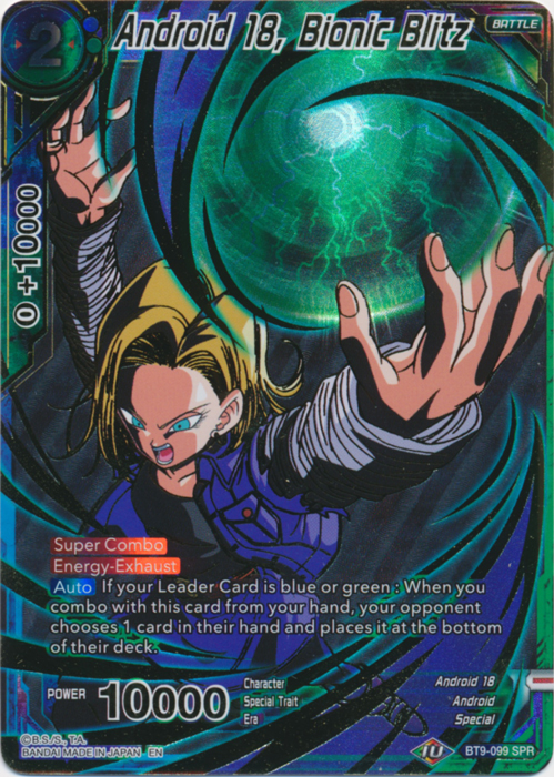 Barrier of Hope BT9-067 Rare Universal Onslaught Dragon Ball Super TCG Mint