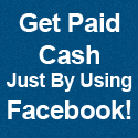 Make cash using Facebook