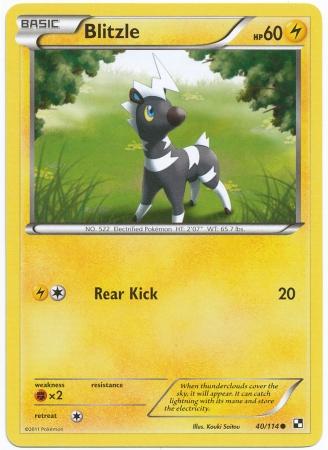 Pokmon: Black & White Next Destinies-Commons Card List