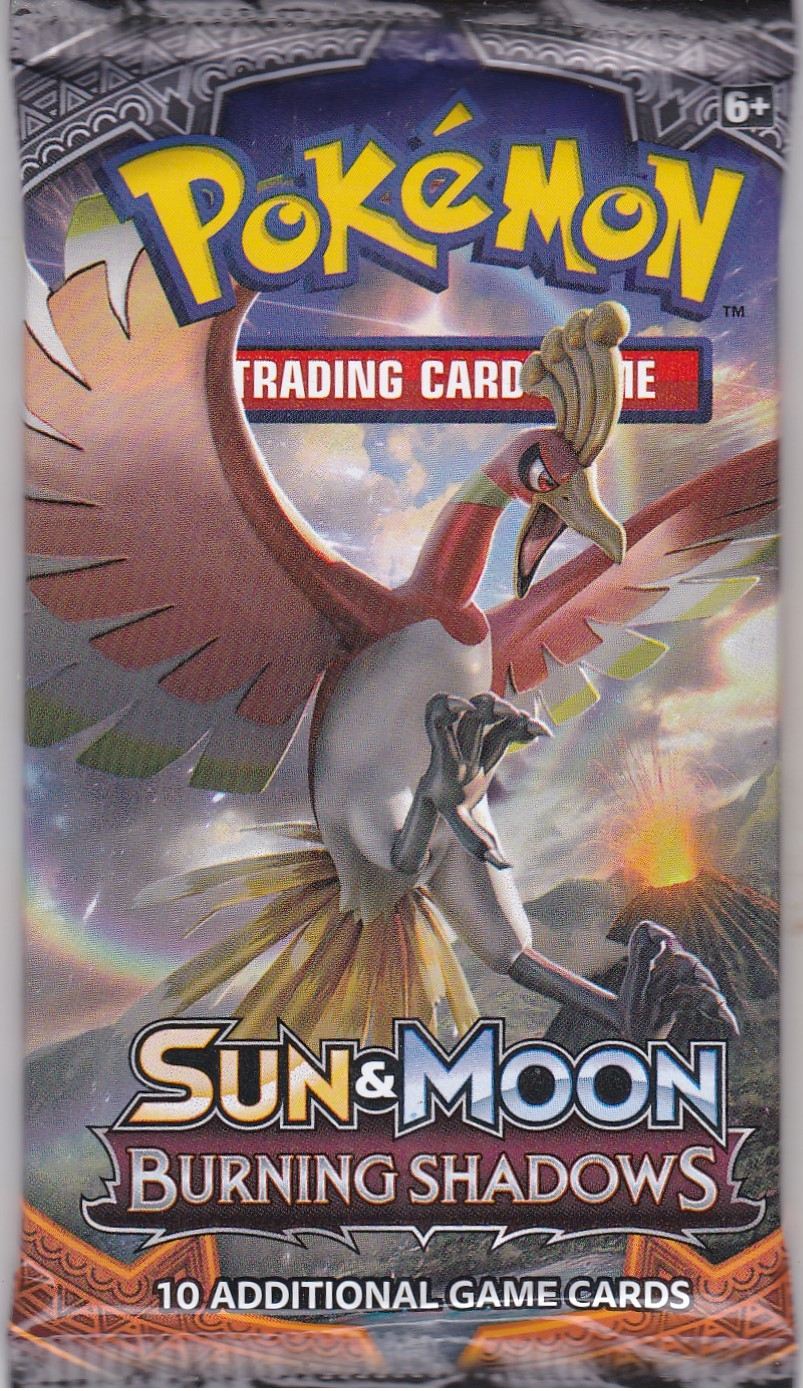 Pokemon Sun&Moon: Burning Shadows Booster Pack