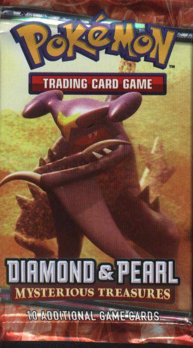 Pokemon EX Diamond and Pearl II: Mysterious Treasures Booster Pack