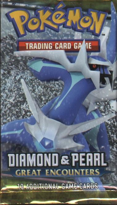 Pokemon EX Diamond and Pearl IV: Great Encounters Booster Pack