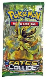 Pokemon XY: Fates Collide Booster Pack