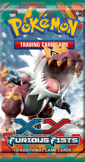 Pokemon XY: Furious Fists Booster Pack