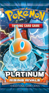 Pokemon Platinum Rising Rivals Booster Pack