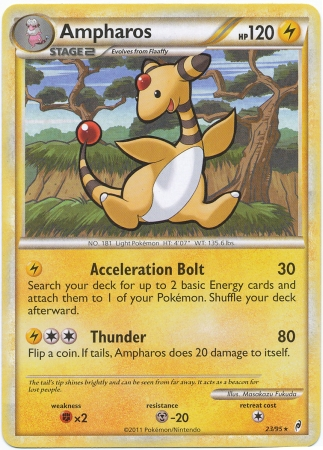 Pokemon- HeartGold/SoulSilver Call of Legends-Rare Trading Card