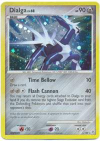 Pokemon- Diamond & Pearl Holofoil Trading Cards