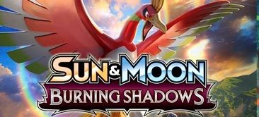 Pokemon Sun and Moon Burning Shadows