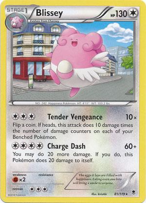 Pokemon-XY Phantom Forces Rare Trading Card