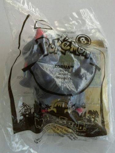 Pokemon McDonald's 2011 #8 Zorua toy and card