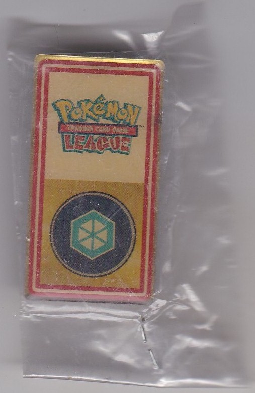 Pokemon League Badge 1999-2000