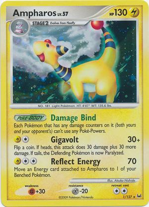 Pokemon- EX Platinum Holofoil Trading Cards