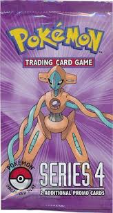 Pokemon Organized Play Series 4 card list