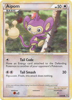 Pokmon: HeartGold Soul Silver-Unleashed Commons Card List