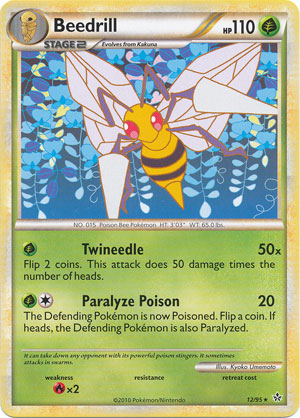 Pokemon: HeartGold Soul Silver-Unleashed Rare Trading Card