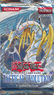 YuGiOh Tactical Evolution Booster Pack