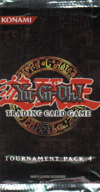 YuGiOh Tournament 4 Booster Pack