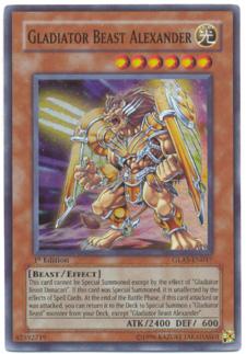 Yu-Gi-Oh! Gladiator's Assault: Gladiator Beast Alexander-Holofoil