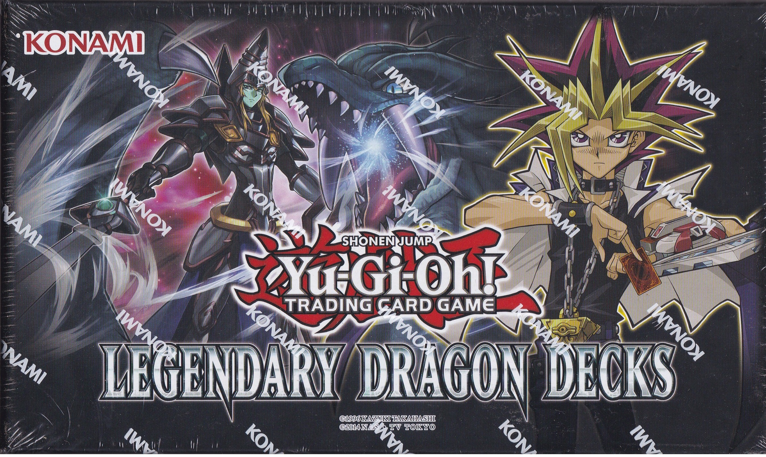 Yugioh Legendary Dragon Decks