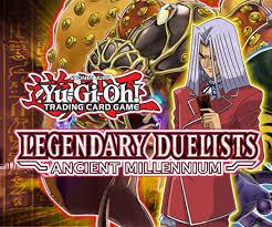 Legendary Duelist Ancient Millennium Deutsch 1 Auflage Yugioh Display