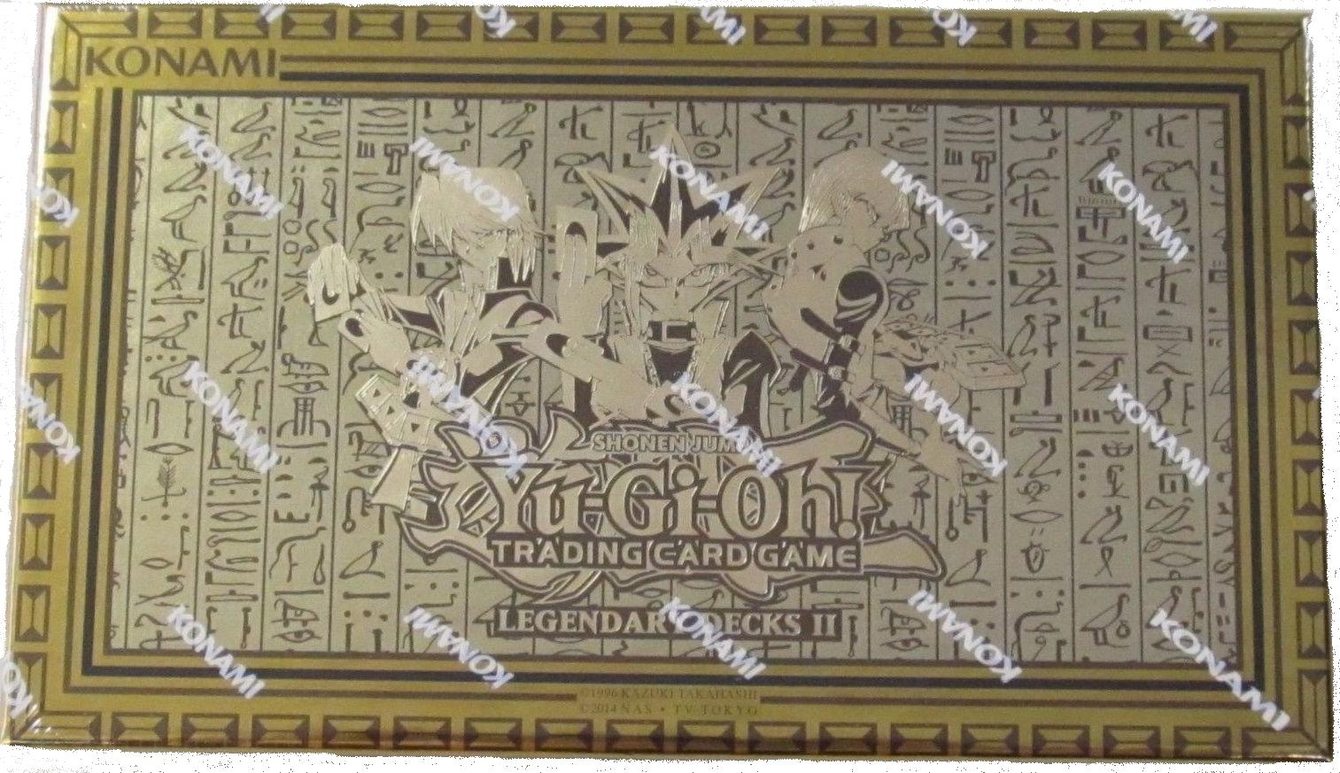 konami yu gi oh yugi u0027s legendary decks ii collector u0027s set at